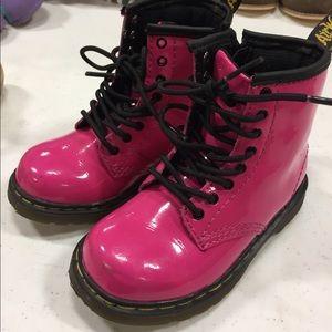 Dr Marten Hot Pink Boots